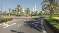 Abu Dhabi City - capital and second most populous city in United Arab Emirates Stock Footage