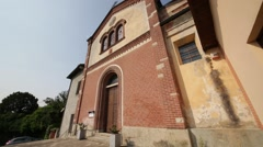 In italy      ancient   religion     building Stock Footage
