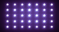 Led wall of Scene Lights Backgroud - stock footage