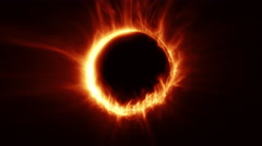 Ring of fire. Stock Footage