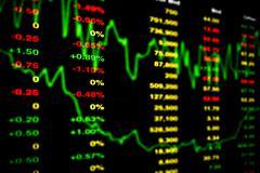 Stock Market Chart - stock illustration