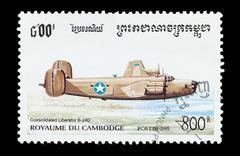 Liberator B-24D Stock Photos