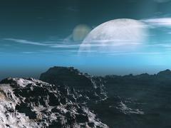Exoplanet Exploration Stock Illustration