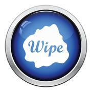 Wipe cloth icon Stock Illustration
