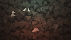 Abstract block shapes - stock footage