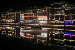 Phoenix town Fenghuang Kuvituskuvat