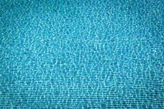 Background of blue mosaic underwater of swimming pool Stock Photos