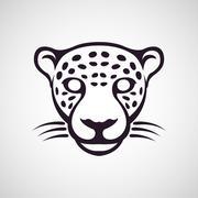Jaguar logo vector Stock Illustration