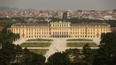 Austria Vienna Schonbrunn Palace Stock Footage