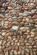 Sea stones pebble texture background Kuvituskuvat