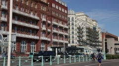 Brighton sea front Stock Footage