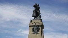 Sir John Simpson's South African War Memorial, Brighton Stock Footage