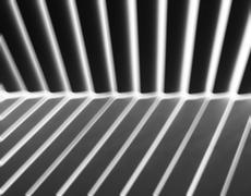 Diagonal dark light and shadow panels motion blur background Stock Photos