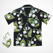 Hawaii shirt vector Piirros