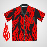 Hawaii shirt vector Stock Illustration