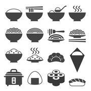 Vector Japanese cuisine Stock Illustration