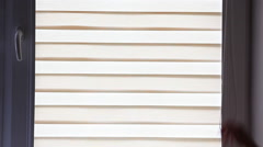 Shutters, day glare, comfort Stock Footage