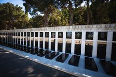 Tomb of Heros in Baku, Azerbaijan Stock Photos