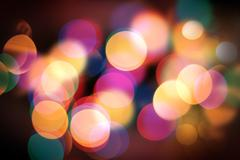 Beautiful christmas background colour lights Stock Photos