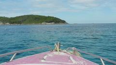 Similan Islands seascape - stock footage