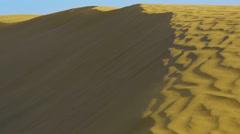 Dunes of Thar desert Stock Footage