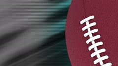Football backgrounds blue gray loop Stock Footage