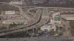 Freeway Aquarium Time Lapse Houston Texas Stock Footage