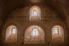 Mor Gabriel Monastery, Midyat, Mardin, Turkey. - stock photo