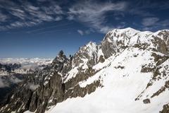 Italy-French alps Stock Photos
