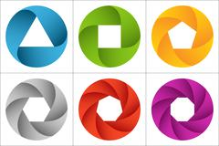 Circle infographics set. Template for diagram, graph, presentation and chart Piirros