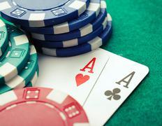 Poker two aces Kuvituskuvat