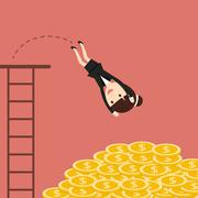 The Business Situation Stock Illustration