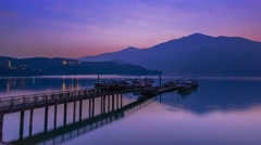 Sun Moon Lake, Nantou, Taiwan Stock Footage
