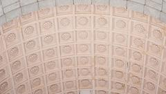 Ceiling texture with ornament background Stock Photos
