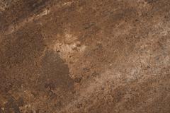 wheathered rust and scratched steel texture useful for background - stock photo