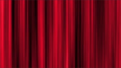 Abstract Moving Red Curtain Background - stock footage