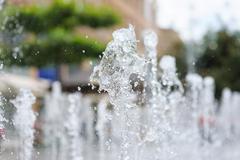 Water of a fountain Stock Photos