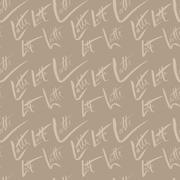 Vector illustration of seamless coffee pattern. Latte coffee Stock Illustration