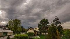 genesis thunderstorms rain sun timelapse - stock footage