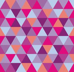 Abstract Colorful Triangle Vector Background Stock Illustration