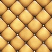 Seamless texture leather upholstery sofa 3D illustration Stock Illustration