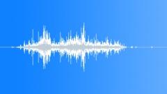 Plastic Tarp Unflod - sound effect