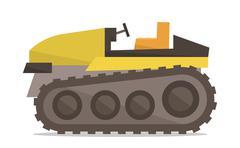 Tractor vector illustration Stock Illustration