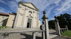 in italy      ancient   religion    building - stock footage