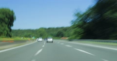 Drive Lapse. Highway, Day Stock Footage