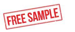 Free sample rubber stamp Stock Illustration