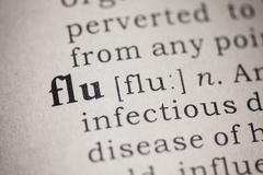 Flu and influenza Kuvituskuvat