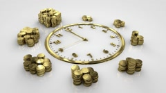 Time Is Money. The second approach 12. Watch and gold coins. Arkistovideo