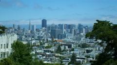 BUENA VISTA PARK SAN FRANCISCO Stock Footage