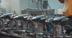 Automatic welding process  Stock Footage